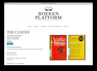 Productpagina website