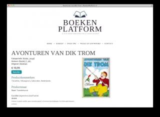 Productpagina Boekenplatform