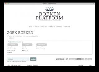 Zoekresultaten Boekenplatform